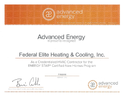 Advanced Energy Small